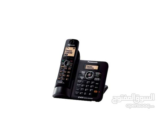 Panasonic KX-TG3821BX  هاتف لاسلكي