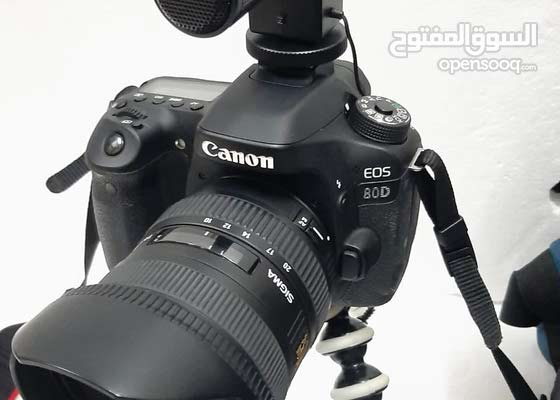 canon 80d (complete video kit)