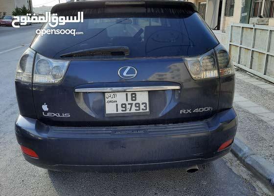 جيب لكزس Rx400 2007 سيارات للبيع لكزس Rx 450 عمان تلاع العلي 134127612 السوق المفتوح