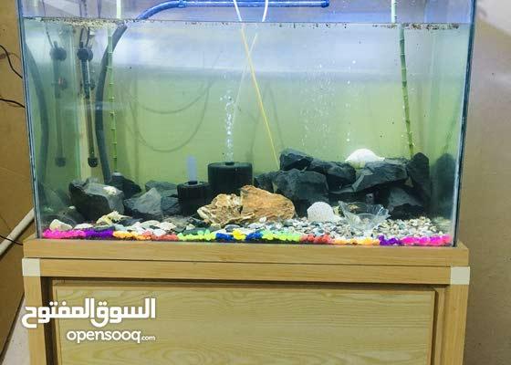 حوض سمك قياس متر مع ملحقاته