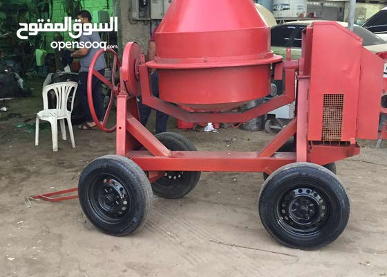 Uesd Concrete mixes machine made in italy