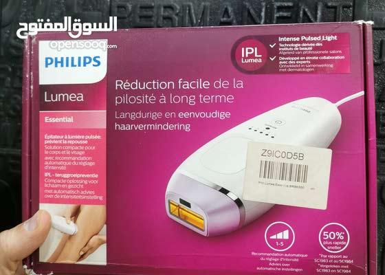 جهاز ليزر بارد من شركة Philips اصلي صنع سلوفينيا  يستخدم لإزالة الشعر لكافه  الل