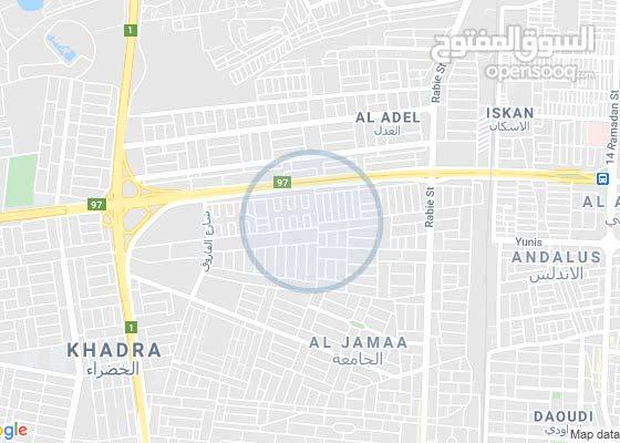 قطعة ارض 75 متر في حي الجامعة موقع مميز