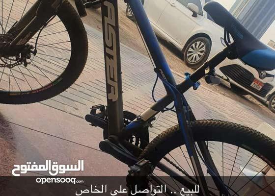 دراجه هوائيه نظيفه غير مستعمله