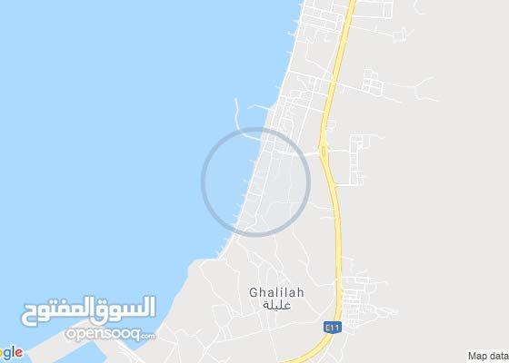 للايجار منزل بمدينة رأس الخيمة منطقة غليله على البحر مباشرة
