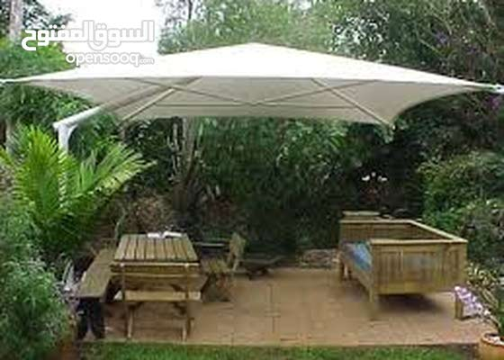 outdoor tent, parking shade, parking space, boundaries