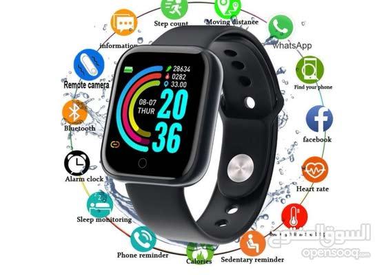 """Y68 Plus 1.54"""" Smart Watch"""