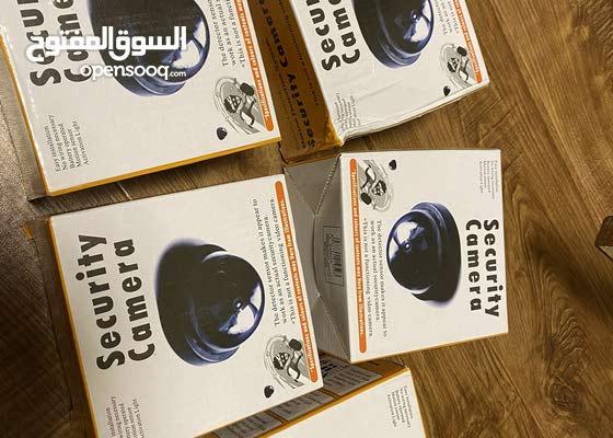 x5 pieces dummy/fake security camera