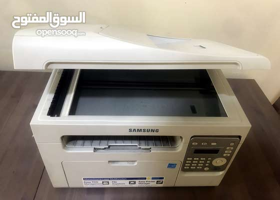 طابعة سامسونج Samsung SCX-3405F Monochrome Laser Multifunction Printer, White