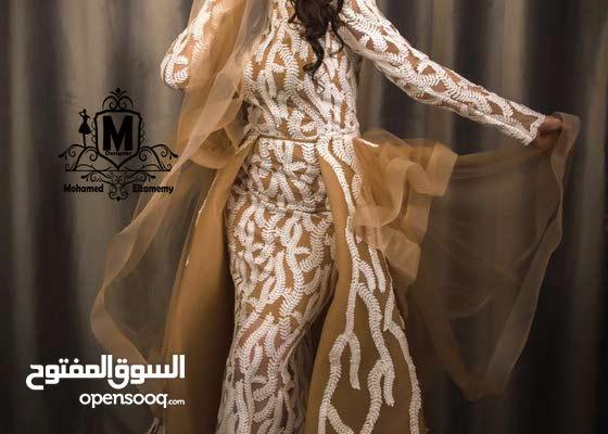 فستان سهره بالطلب تصميمmohamed eltamemy