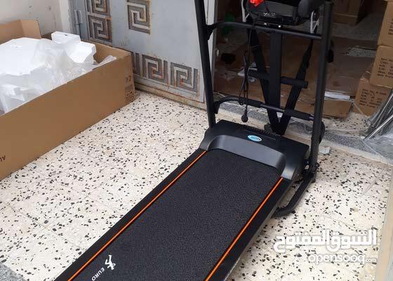 سير جري جديد متكامل يحمل لعند 110 kg كما موضح بالصور مع ضمان سنه