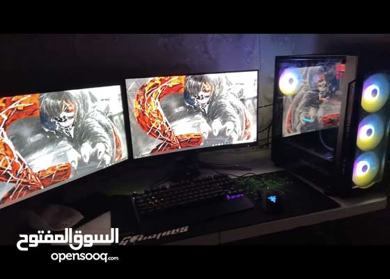 للبيع pc gaming مستعجل