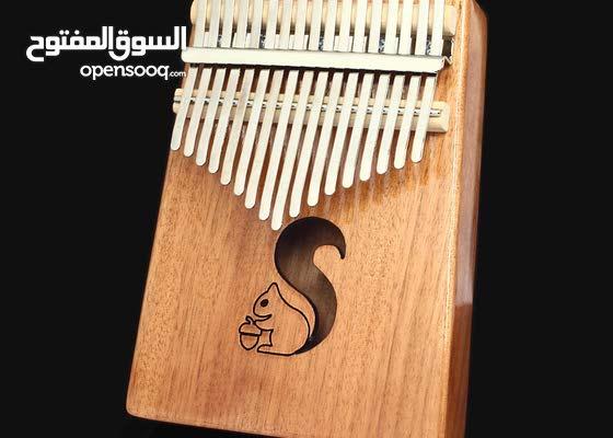 آلة الكليمبا Kalimba الموسيقية (سهلة التعلم)