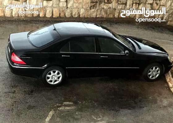 سيارة مرسيدس 2011 اسود للايجار فخمة
