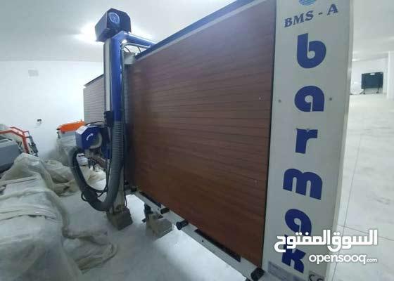 فرصة لبدء مشروعك الان جاهز مصنع كامل للبي في سي ومكينة لقص الكوبست لتلبيس