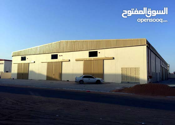 A warehouse building for sale in Ajman UAE Jurf Industrial 2