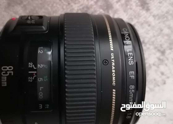 Canon EF 85mm f/1.8  Lens for Canon SLR Cameras