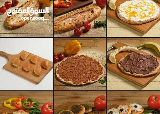 شيف خبز وفطائر صاج وفرن