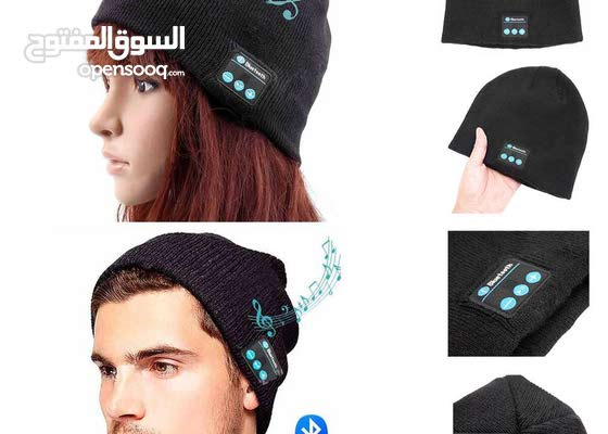 Wireless Bluetooth hat Smart Cap Headset Headphone Speaker Mic .