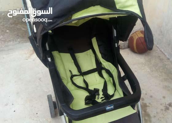 عربة اطفال مستعملة