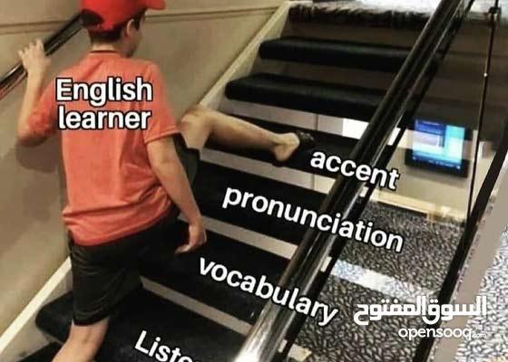 دروس خصوصية ومجموعات اللغه الانجليزيه