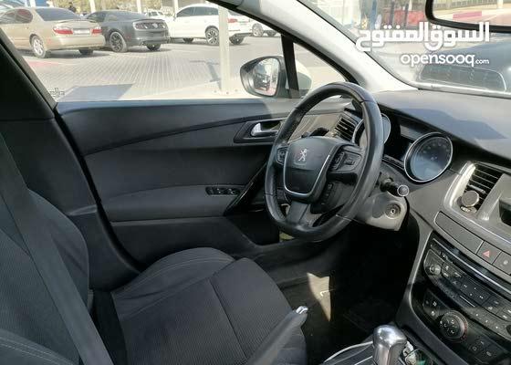 بيجو 508 موديل 2012 خليجي اوتوماتيك بسعر 16 الف درهم
