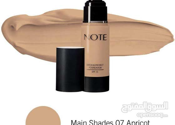 NOTE DETOX AND PROTECT FOUNDATION PUMP -  Shade 07