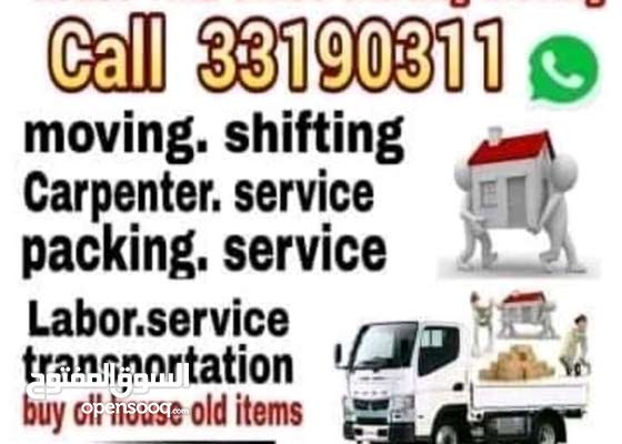 shifting moving carpentry services please