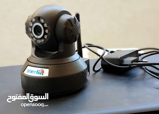 Merlin wifi IP camera كاميرا للمنزل حماية من السرقة ومراقبة الأطفال
