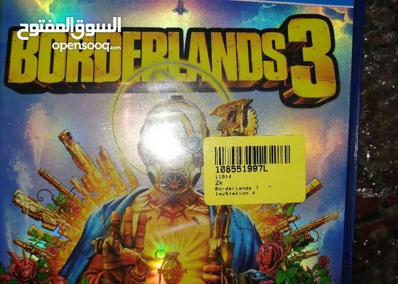 borderlands 3 new جديدة متبرشمة مع توصيل مجاني لحد باب البيت