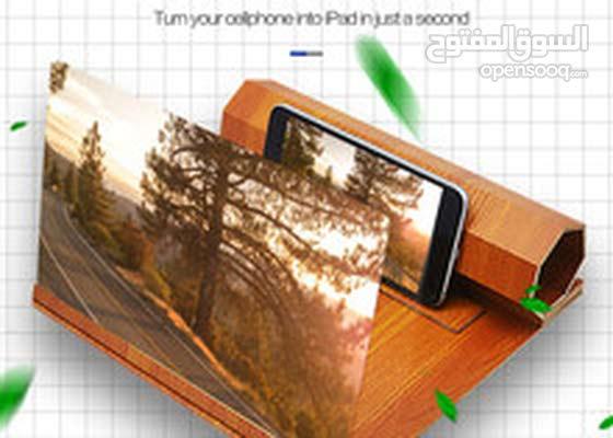 خشبي الهاتف HD الفيلم / المكبر شاشة الفيديو لجميع الهواتف الذكية