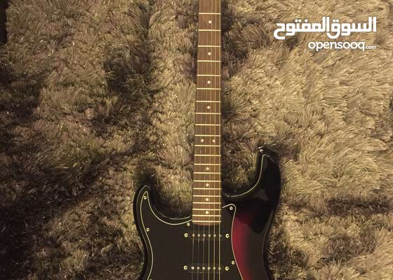 Electric Guitar (Lefty Fender Squier Strat)