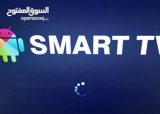 شاشة سمارت 75 بوصة للبيع جودة عالية  HUGE SMART 4K TV 75 INCHES