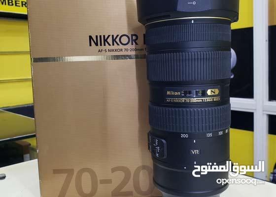 lens nikon 70-200mm f/2.8 vr ii