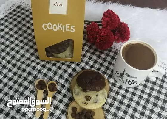كوكيز cookies لذيذ لذيذ لايقاوم اطلب وماراح تندم هش واستمتع بمذاق الطعم