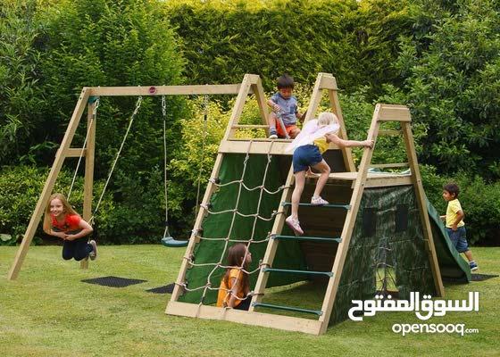 العاب ترفيهيه ومجمعات خشبية