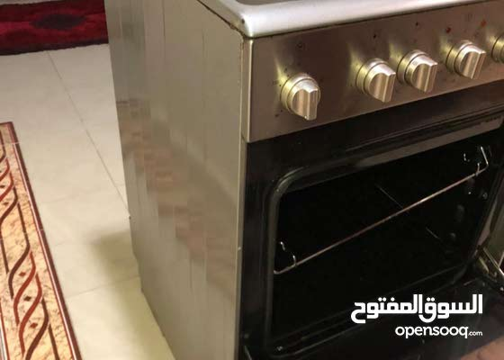 Bompani 4 Burners Gas Cooker With Oven & Grill Full Safety ( 60 x 60 ) cm Model