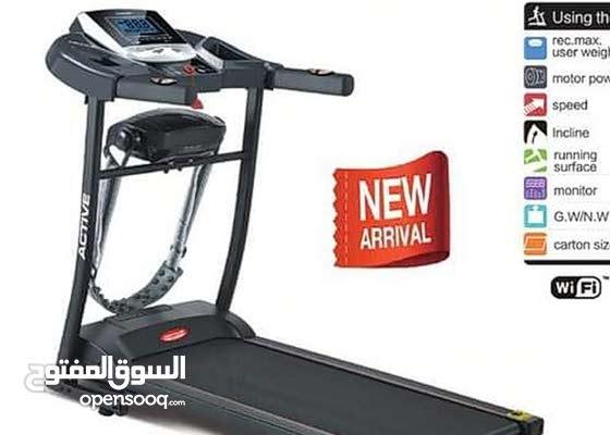 Tapis roulant Active Nouveauet bonne prix  90 kg ____ 50000 DA 100 kg___ 600