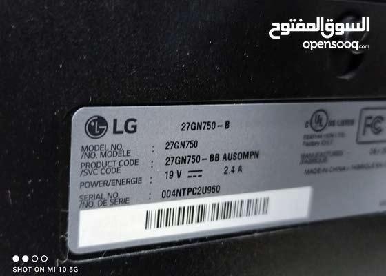 LG GN750 ips 240hz gaming monitor