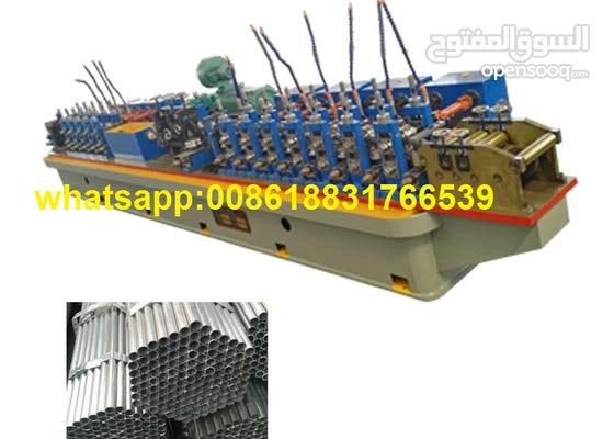 Ligne de soudage de tubes en acier