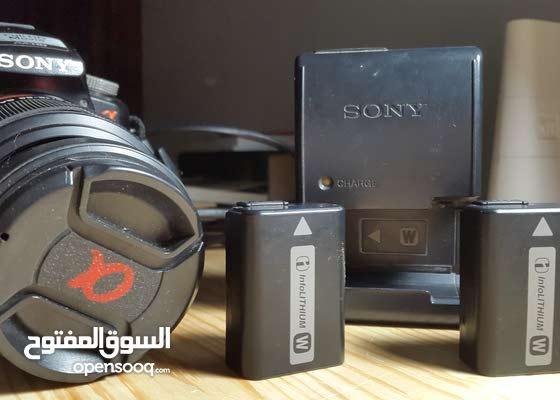 كاميرا sony a55 صورة و فيديو full hd مع 2 عدسات