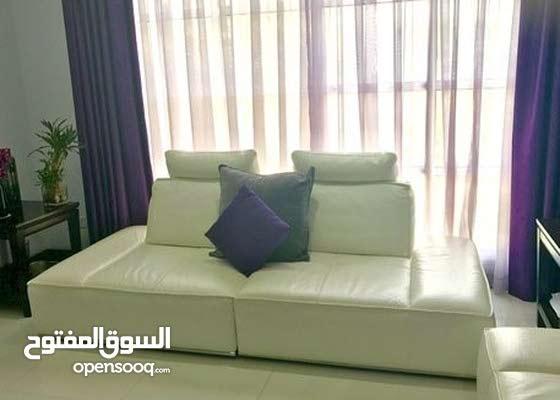 Genuine Leather Sofa-Bed Set Originally Bought from Marina