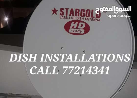 satellite dish installations