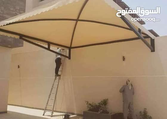مظلات وسواتر  مظلات سيارات ' مظلات ساحات ' مظلات مدارس ' تغطية المسابح ' حماية ا