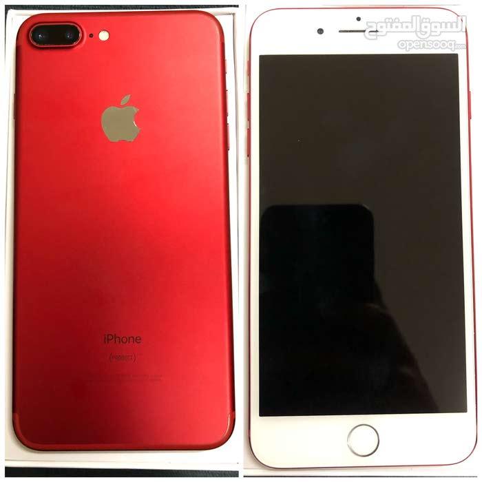 ايفون 7 بلاس احمر