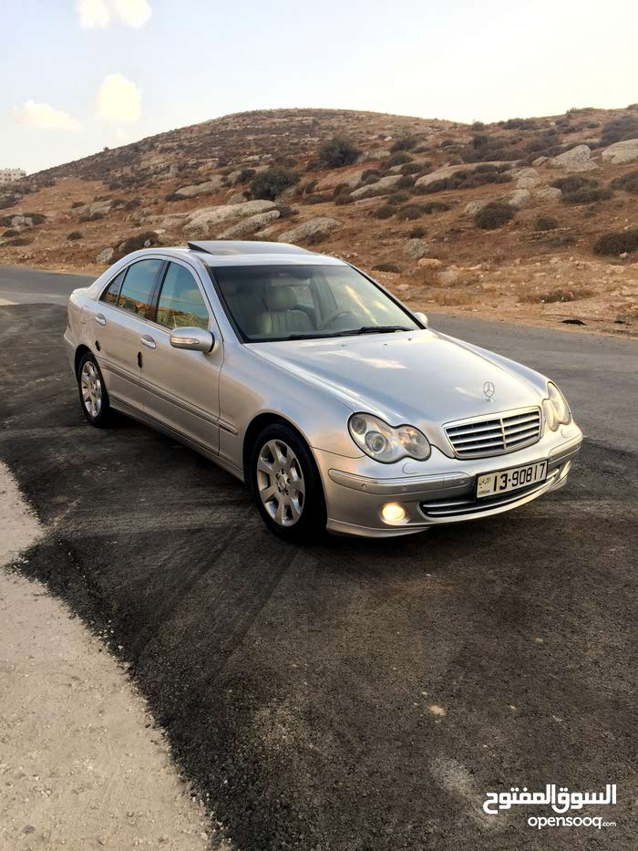 km Mercedes Benz C 200 2005 for sale