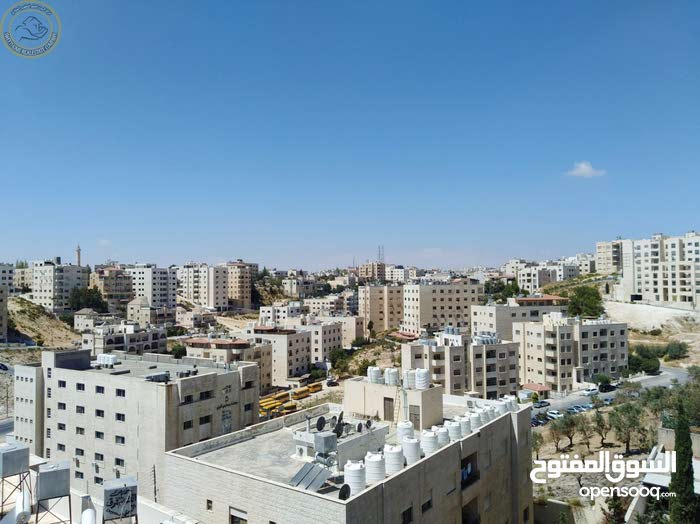 Third Floor  apartment for sale with 3 rooms - Amman city Tla' Ali