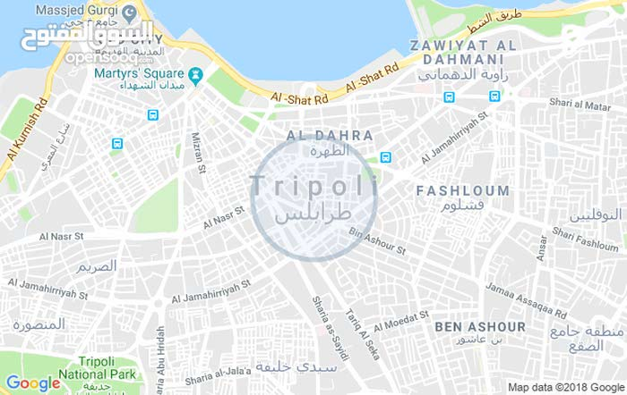 2 rooms 2 bathrooms apartment for sale in TripoliHay Al-Islami