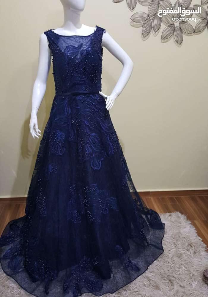 فستان سهرة جدييد لبسة واحد للبيع