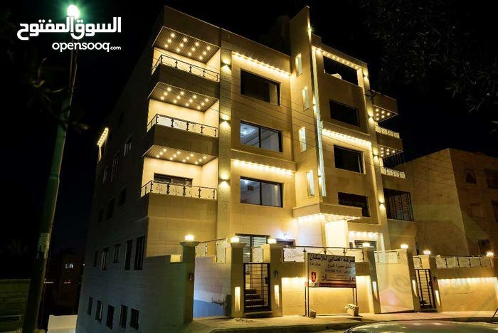 Ground Floor  apartment for sale with 3 Bedrooms rooms - Amman city Abdoun
